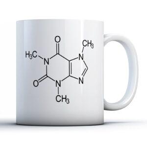 Caffeine Molecular Structure – Printed Mug