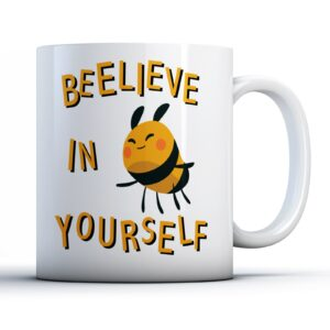 Beelieve in Yourself! – Printed Mug