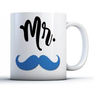 Mr. Moustache – Printed Mug