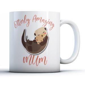 Otterly Amazing Mum – Printed Mug