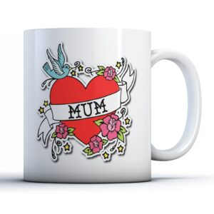 Mum Tattoo – Printed Mug