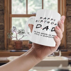 Friendly Dad Quarantine – Printed Mug