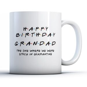 Friendly Grandad Quarantine – Printed Mug