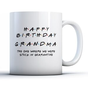 Friendly Grandma Quarantine – Printed Mug