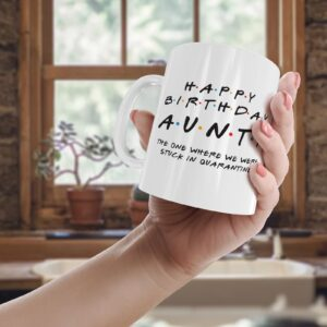 Friendly Aunty Quarantine – Printed Mug