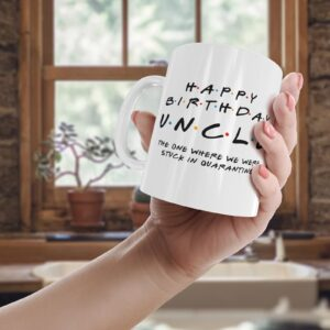 Friendly Uncle Quarantine – Printed Mug