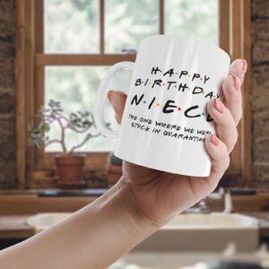 Friendly Niece Quarantine – Printed Mug