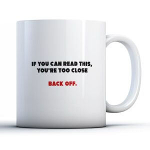 Funny Lockdown If You Can Read This  – Printed Mug