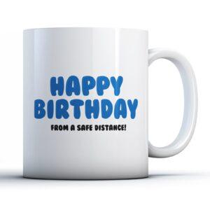 Funny Lockdown Happy Birthday  – Printed Mug