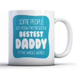 Bestest Daddy Fathers Day – Printed Mug