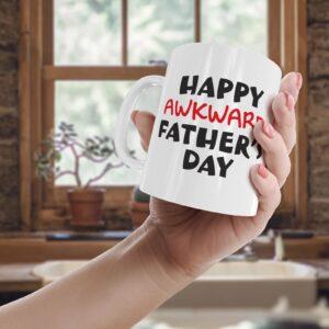 Awkward Step Fathers Day – Printed Mug