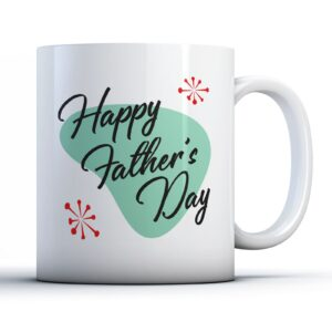 50's Googie Happy Fathers Day – Printed Mug