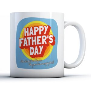 Annoying Brat Step Fathers Day – Printed Mug