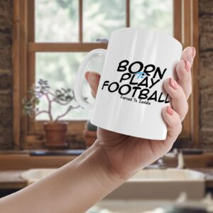 Born To Play Football, Forced To Isolate – Printed Mug
