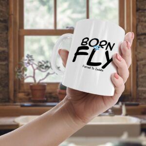 Born To Fly, Forced To Isolate – Printed Mug