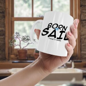 Born To Sail, Forced To Isolate – Printed Mug