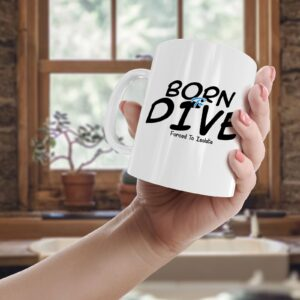 Born To Dive, Forced To Isolate – Printed Mug