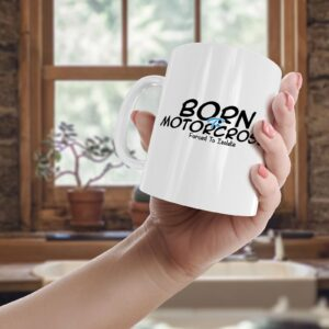 Born To Motorcross, Forced To Isolate – Printed Mug