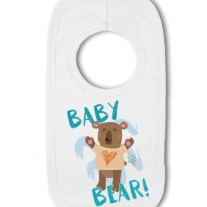 Baby Bear!- Baby Pullover Bib