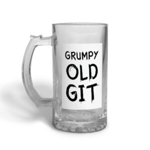 Gurmpy Old  Father's Day – Glass Beer Stein