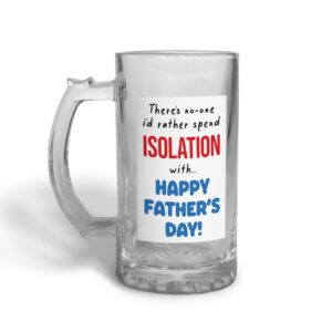 Spend Isolation With Father's Day – Glass Beer Stein