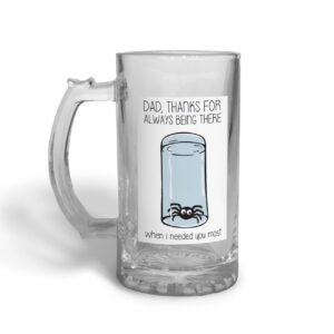 Always There Father's Day – Glass Beer Stein