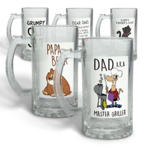 Fun Collection of Father's Day – Glass Beer Stein
