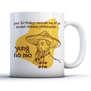 Old Chinese Philosopher  – Printed Mug