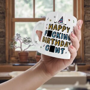 Rude Birthday  – Printed Mug