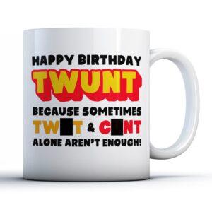 Rude Twunt  – Printed Mug