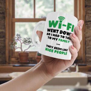 Funny Wi-fi  – Printed Mug