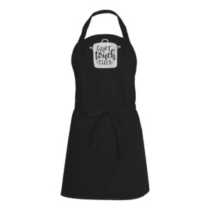 Mens/Womens Can't Touch This – Black Apron