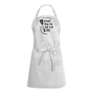 Mens/Womens Catch You On The Flip Side – White Apron