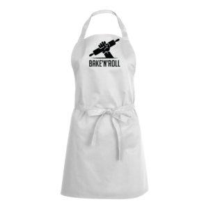 Mens/Womens Bake N Roll – White Apron