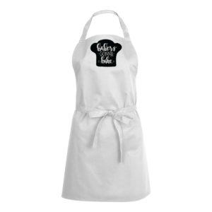 Mens/Womens Bakers Gonna Bake – White Apron