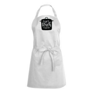 Mens/Womens Can't Touch This – White Apron