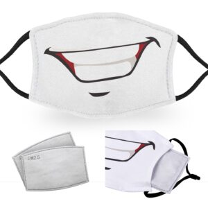 Handsome Smile – Reusable Adult Face Masks – 2 Filters Included