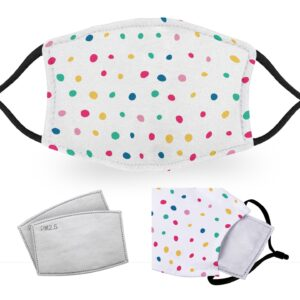 Polkadot – Reusable Childrens Face Masks – 2 Filters Included