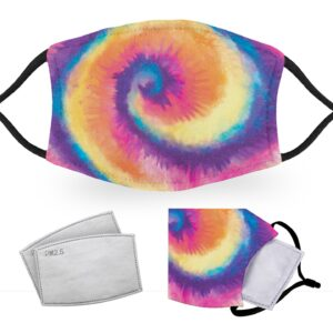 Tie Dye – Reusable Childrens Face Masks – 2 Filters Included