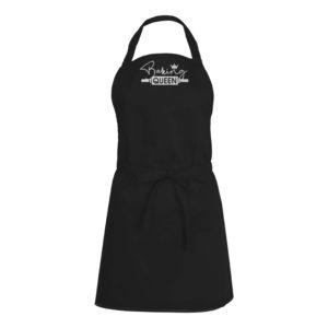 Mens/Womens Baking Queen – Black Apron