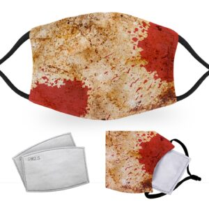 Dirty Blood Splatter – Halloween Costume – Child Face Masks – 2 Filters Included