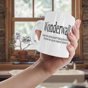 Wonderwall Colourful – Printed Quote Mug