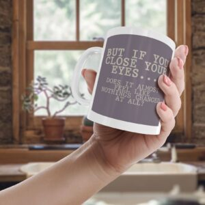 Bastille Pompeii Lyrics Colourful – Printed Quote Mug