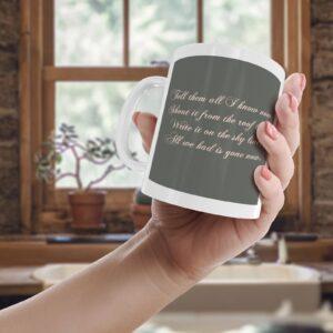 James Arthur Impossible Lyrics – Printed Quote Mug