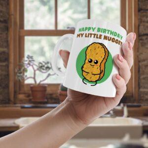 Cute Birthday Nugget  – Printed Mug