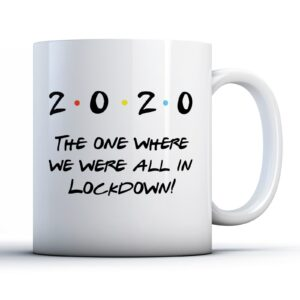 Friendly Lockdown  – Printed Mug