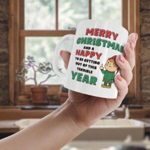 Goodbye 2020 Christmas  – Printed Mug