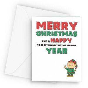 Goodbye 2020 Christmas  – Greetings Card