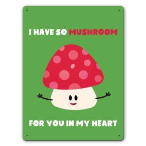 So Mushroom  – Metal Wall Sign