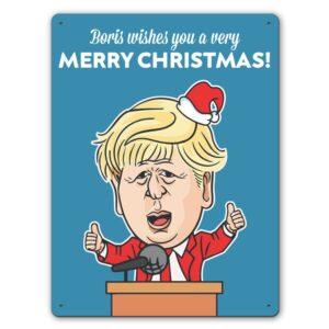 Prime Christmas  – Metal Wall Sign
